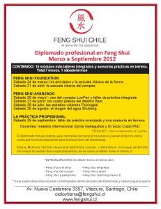 Feng Shui Chile Diplomado Profesional - 2012