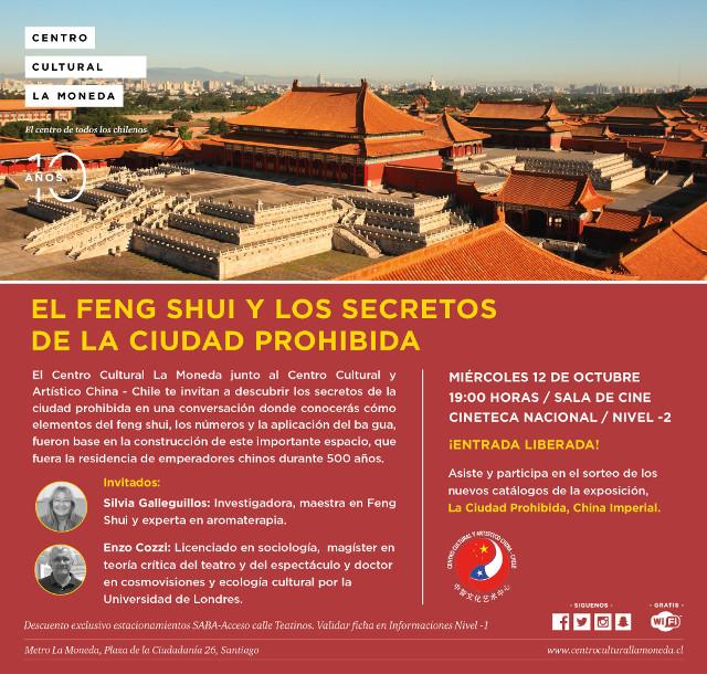 Charla sobre Ciudad Prohibida de Sylvia galleguillos y Enzo Cozzi - Centro Cultural la Moneda