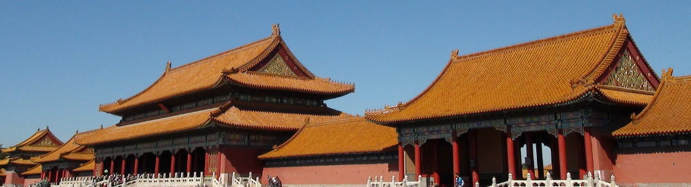 Techumbres de la Ciudad Prohibida, Beijing, foto de Enzo Cozzi