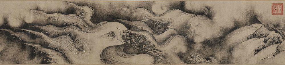 Chen Rong, Pergamino de los nueve dragones